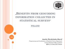 *Merging statistics and geospatial information in Member