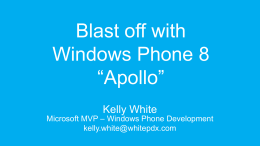 Windows Phone 8 * Apollo