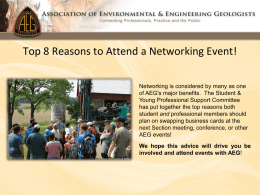 Top 8 Reasons to Attend a Networking Event