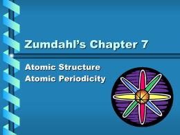 Zumdahl`s Chapter 7