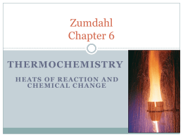 Zumdahl Chapter 6
