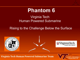 Phantom 6 - ISR - International Submarine Races