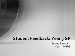 ICS Year 3 by James Lambert