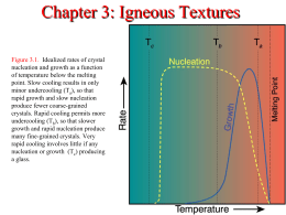 Chapter 3 Igneous Textures