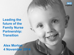 Transition - Family Nurse Partnership
