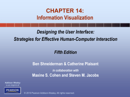 Chapter 14: Information Visualization