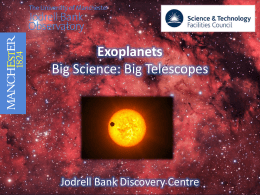 Exoplanets: PowerPoint presentation