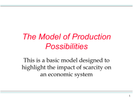 Chapter 1 Introduction: What is Economics?