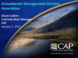 Chuck Cullom - Groundwater Management District 3