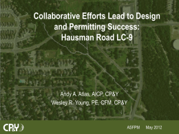 Hausman Road Drainage Project LC-9