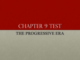 Chapter 9 Test Review PPT