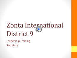 PowerPoint - Zonta International