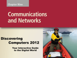 Chapter 9: Network and Communication