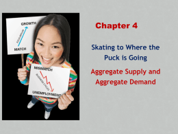 Chapter 4: Skating to Where the Puck is Going: Aggregate Supply