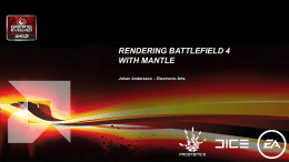 Rendering Battlefield 4 with Mantle
