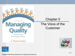 Managing Quality Integrating the Supply Chain - 4th Edition