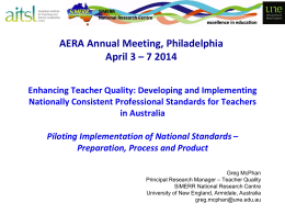 AERA 2014 - APST Validation Part 3 - SiMERR - Pilots