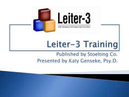 Leiter-3 Training Power Pointx