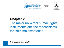 Chapters 2-3 - Office of the High Commissioner on Human Rights