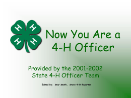 offtrain - 4-H Youth Development