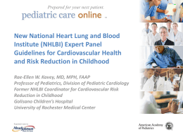 PPT - American Academy of Pediatrics