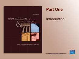 Chapter 1 - the School of Economics and Finance