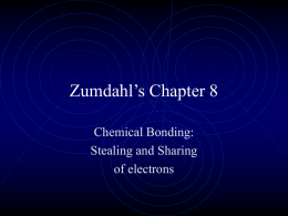 Zumdahl`s Chapter 8