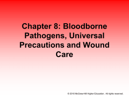 Chapter 8 - Bloodborne Pathogens