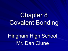 Chapter 8 Notes - Hingham Schools