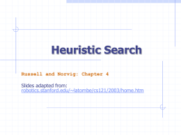 Heuristic search - Webdocs Cs Ualberta