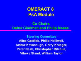 OMERACT 8 introducti..