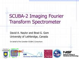 SCUBA-2 Imaging Fourier Transform Spectrometer