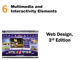 Web Design Chapter 6 Notes