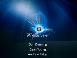 Windows 7, installation and troubleshooting