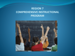 45. Comprehensive Instructional Programx