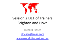 Session 2 DET of Trainers1