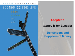Chapter 5: Money is for Lunatics