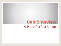 Unit 5 Review