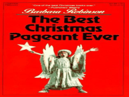 The Best Christmas Pageant Ever Chapter 5