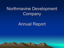 NDC Annual report Jan 07