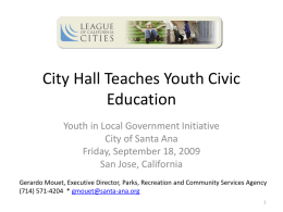 resources  City Hall Teaches Youth Civic Education Gerardo Mouet AC 2009