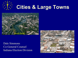 Cities and Large Towns2015