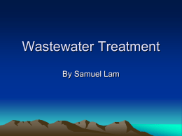 wastewatertreatment