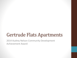 Gertrude Flats Apartments