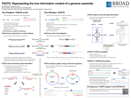 FASTG: Representing the true information content of a genome