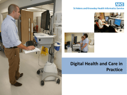 Rowan Pritchard-Jones: Digital Health and Care in Practice
