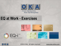 EQ at Work - Exercises