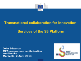 Transnational collaboration for innovation