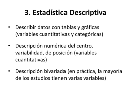 3. Estadistica descriptiva