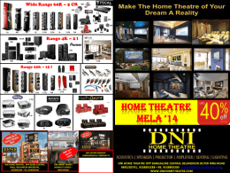 Rs. 250500 - DNI Home Theatre